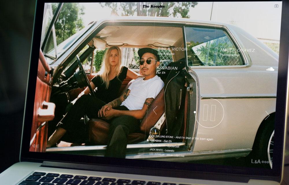 photo lifestyle car case the kooples la