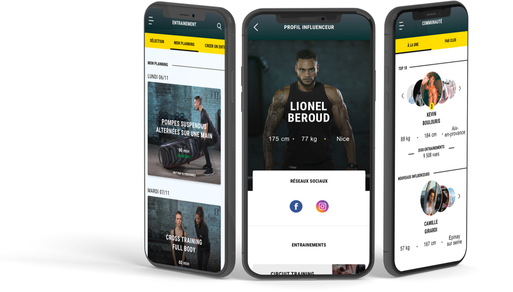 post preview case fitnesspark app