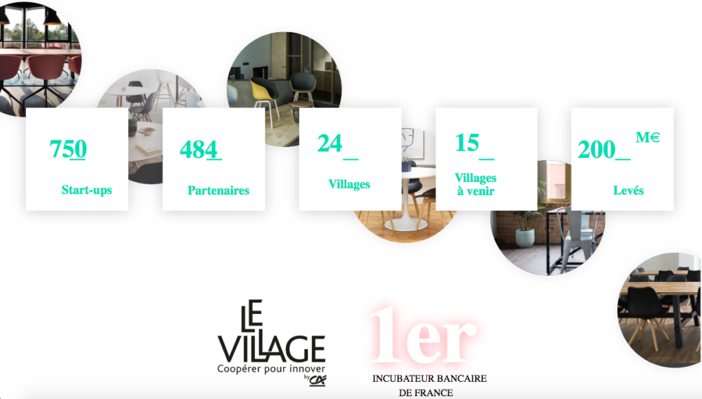 1er incubateur case village by ca