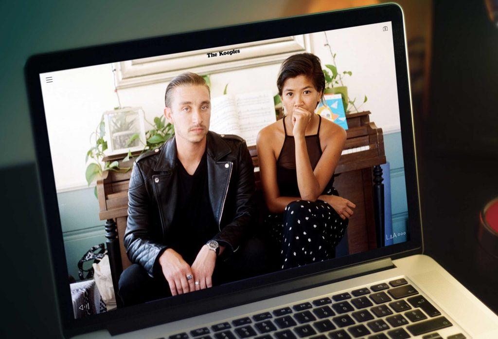 video desktop case the kooples LA