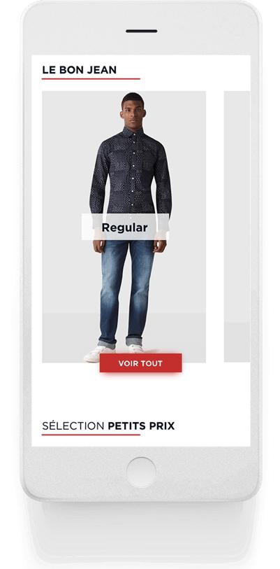 le bon jean case celio.com